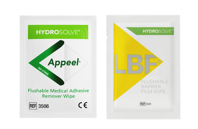 Appeel And LBF Hydrosolve Flushable Wipes